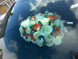 Wedding Options - Flowers on the Parcel Shelf