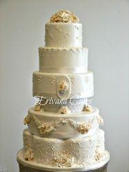 Ivory Wedding Cake 2