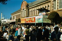 164 Side Show Alley Sydney Easter Show 1957