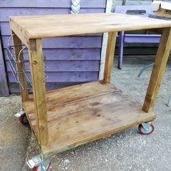 Bespoke handmade trolley