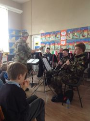 Members of the Defence Forces Army Band