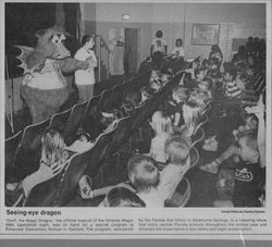 1990 ESFK Orlando Sentinel Photo SCPS