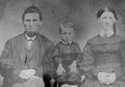 Samuel Davis, Mary (Garner), and George Elmer Gibboney
