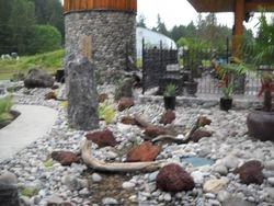 River& fountain construction