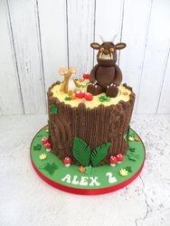 Alex's 2nd Birthday Cake