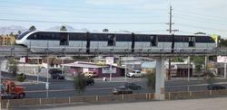 Bombardier Transportation Mark VI Monorail Train