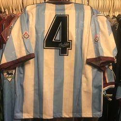 Tim Breaker 1991/92 worn away shirt.
