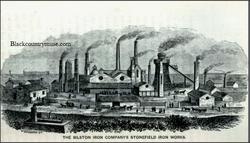 Bilston Iron Works. 1872.