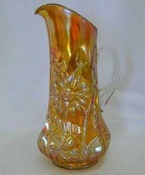 Dandelion tankard water pitcher, marigold