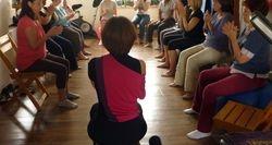 Massage/activation des mains