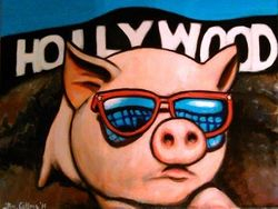 """Hollywood Pig"", ""Hollywood"", ""Pig"","