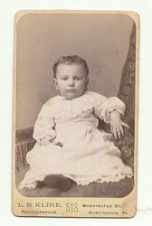 Unidentified child of the Ealy family