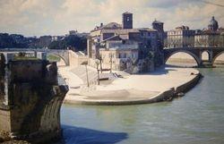 419 Isola Tiburina 62BC Bridges Rome