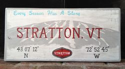 Stratton Mtn Sign