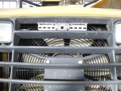 Komatsu WA320 Anbau einer Rueckfahrkamera