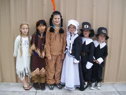 Thanksgiving Indians & Pilgrims Day