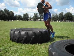 Weighted tire jumps 2