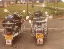 Typical scoots of 1979-80