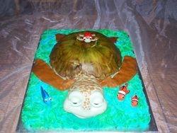 Turtle_Finding Nemo Cake