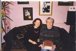 Martin's birthday cake, 1990s