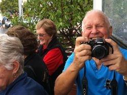 Ian taking a photo of Stan taking a photo of Ian !