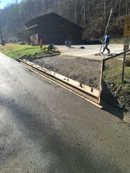 Driveway and Trench Drain