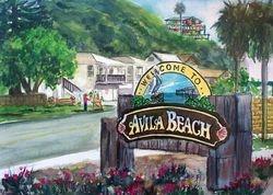 Avila Beach Sign