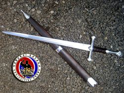 Maritoni Carillo's Custom Made Anduril Long Sword