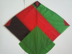 Afghan Kite - Afghanistan Flag