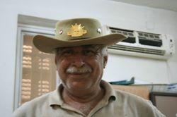 Mohammed - 41 yrs, gardener for the British Commonwealth War Graves comission