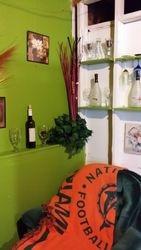 Hanging Wine Bottles