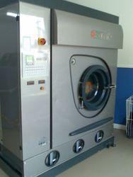 The old Dry Cleaning Machine