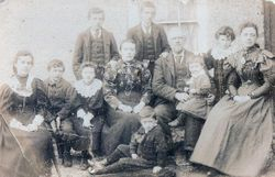 Danaher Family, Athea, Co Limerick c 1900