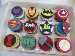 Josh's 16th Birthday Cupcakes