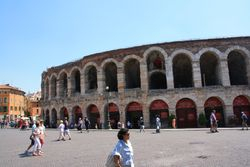 Exterior of Roman Arena in Verona