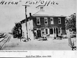 Post Office and General Store - circa 1920