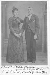Freda and Fred Hayes of MI c. 1892