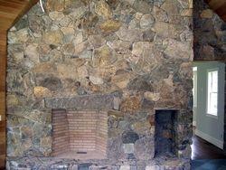 New England fieldstone veneer
