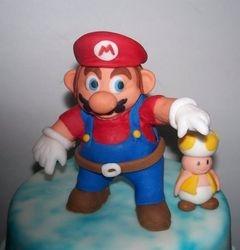 Mario Sunshine Cake (Mario)