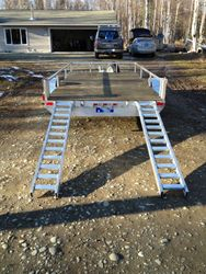 12' Trailer with ramps