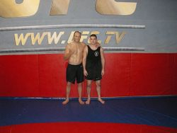 Training with Randy Couture
