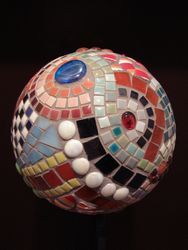 "Mosaic ""cycles"" sphere"