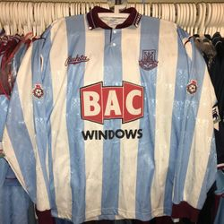 Ian Bishop 1991/92 worn away long sleeve shirt