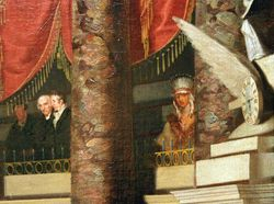 Morse, The House of Representatives, 1823, Corcoran Gallery, detail