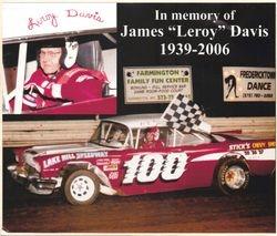 """James """"Leroy"""" Davis 1939 - 2006"""