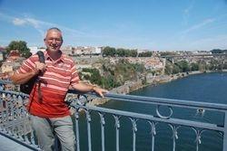 John on top of the bridge