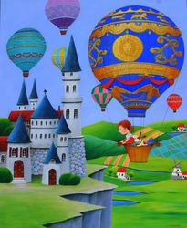 Montgolfiere Balloon
