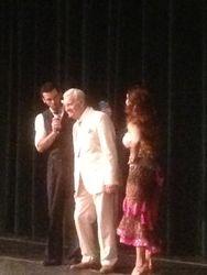 Woody with Jenna Johnson, and Tony Dovolani