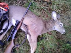 FIRST DAY RIFLE SEASON KILL