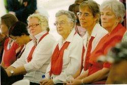 Whittlesea Township Choir members